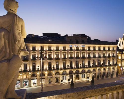 Grand hotel de bordeaux spa 5 star 2 5 place de la com die for La boutique hotel de bordeaux